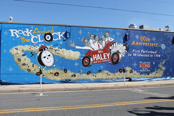 Bill Haley and the Comets Icon Wall Mural