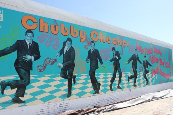 Chubby Checker Icon Wall Mural 1