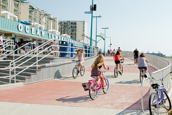 Bike Boardwalk Entrance Ramp2