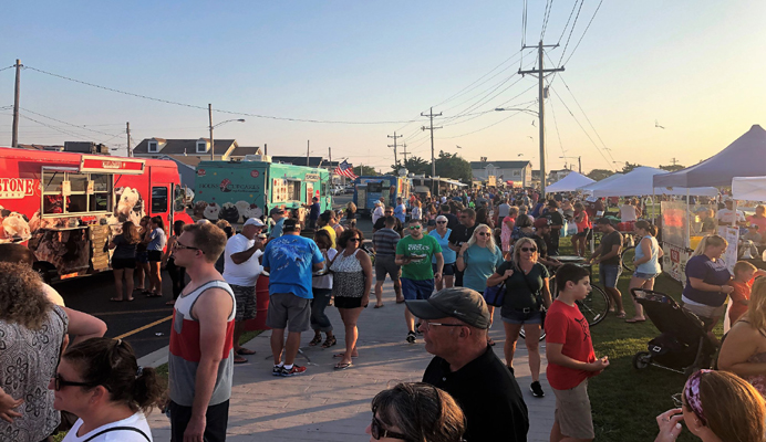 July Sunset Lake Food Truck Festival