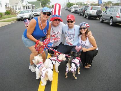 patriotic pooch parade