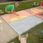 sidewalk chalk competition please note time updates