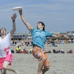 ultimate beach frisbee tournament cancelled