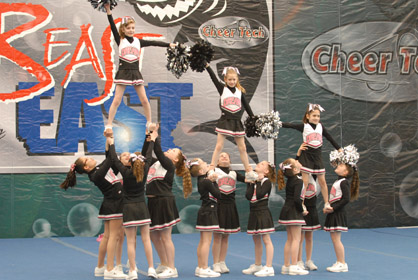 """Spirit Brands """"Beast of the East"""" Cheer Competition"""