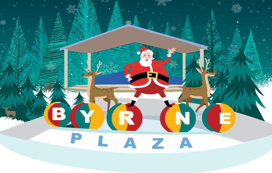 holiday festivities at byrne plaza 1