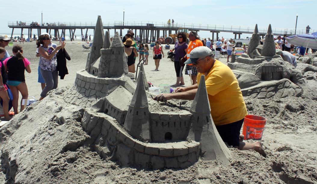 Wildwood Crest Sand Sculpting Festival