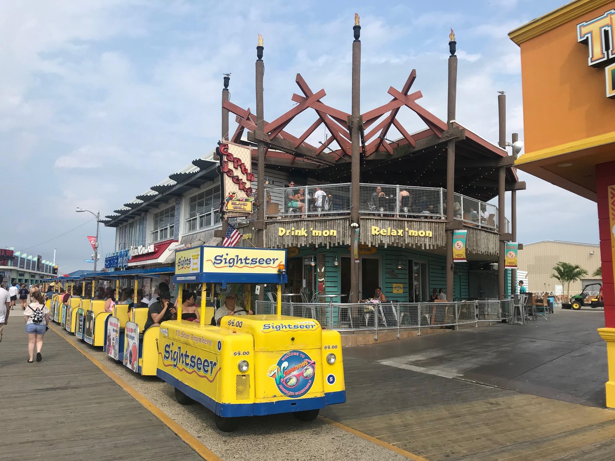 Tram at Jacks