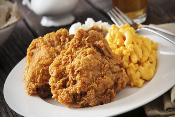 mac and cheese fried chicken