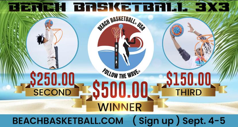 Beach Basketball x