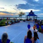 Sunset Lake gazebo music